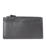 Peňaženka kožená dámska čierna VK8