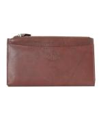 Peňaženka kožená dámska cognac VK8