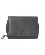Peňaženka kožená dámska čierna VK15