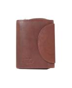 Peňaženka kožená dámska cognac VK16