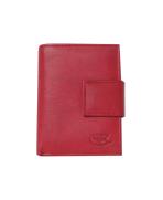 Peňaženka kožená dámska červená VK25