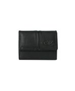 Peňaženka kožená dámska čierna VK18