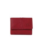 Peňaženka kožená dámska červená VK18