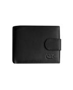 Peňaženka kožená pánska čierna VK3A