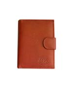 Peňaženka kožená pánska cognac VK28