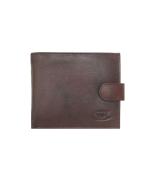 Peňaženka kožená pánska hnedá VK2A