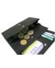 Peňaženka kožená dámska čierna VK7