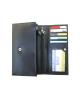 Peňaženka kožená dámska čierna VK71VT