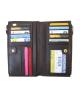 Peňaženka kožená dámska hnedá VK8