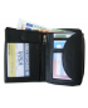 Peňaženka kožená dámska čierna VK16