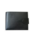 Peňaženka kožená pánska čierna VK3AVT