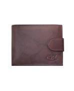 Peňaženka kožená pánska hnedá VK3A