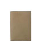 Veľká dokladovka kožená svetlobéžová 11213A
