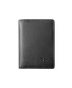 Peňaženka kožená čierna VK24