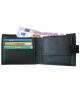 Peňaženka kožená pánska čierna VK2A