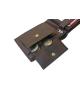 Peňaženka kožená pánska hnedá VK3