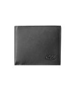 Peňaženka kožená pánska čierna VK2