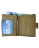 Peňaženka kožená béžová VK28