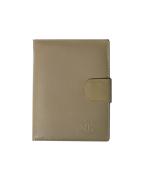 Peňaženka kožená pánska béžová VK28