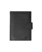 Peňaženka kožená pánska čierna VK28