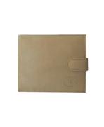 Peňaženka kožená pánska béžová VK2A