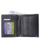 Peňaženka kožená pánska čierna 11869