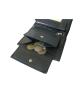 Peňaženka kožená pánska čierna VK6