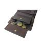 Peňaženka kožená pánska hnedá VK6