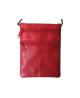 Púzdro na doklady kožené červené VK26L
