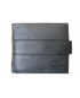 Peňaženka kožená pánska čierna VK103A