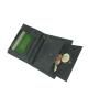Peňaženka kožená pánska čierna 14566