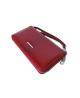 Peňaženka lakovaná dámska červená 5295