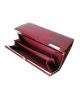 Peňaženka lakovaná dámska červená 5289