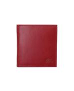 Peňaženka kožená dámska červená P 904