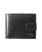 Peňaženka kožená pánska čierna P 5