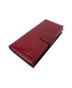Peňaženka kožená dámska bordová P 601
