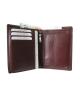 Peňaženka kožená pánska hnedá P 13