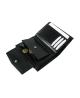 Peňaženka kožená pánska čierna P 4