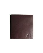 Peňaženka kožená dámska tmavohnedá P 904