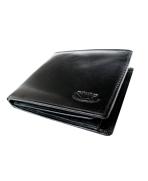 Peňaženka kožená pánska čierna P 3