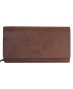 Peňaženka kožená dámska hnedá VK9