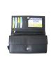 Peňaženka kožená dámska čierna VK8N