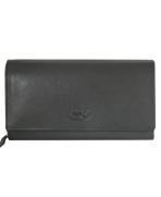 Peňaženka kožená dámska čierna VK9