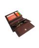 Peňaženka kožená pánska hnedá VK1