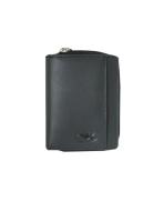 Peňaženka kožená dámska čierna VK35