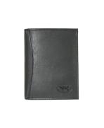 Peňaženka kožená pánska čierna 106 Radius