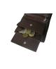 Peňaženka kožená pánska hnedá 106 Radius