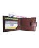 Peňaženka kožená pánska hnedá VK32