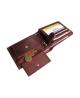 Peňaženka kožená pánska hnedá VK3 Linea