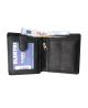 Peňaženka kožená pánska čierna VK1F